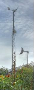 12v mini vindmølle i kolonihave